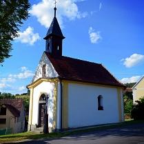 kaple Andělů Strážných z konce 18. století