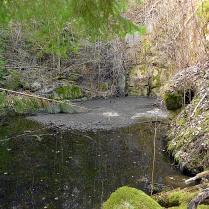 Zatopený lom v Tyterci